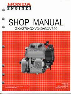 Honda Gxv270 Engine Shop Manual