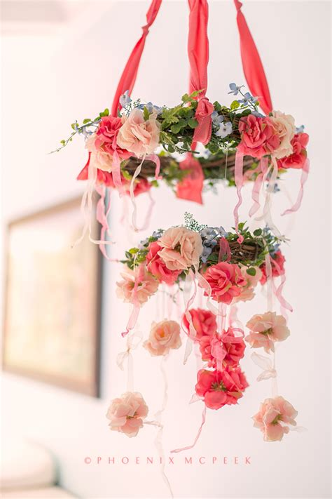 picture of diy floral mobile we re falling hard for floral wreath mobiles project nursery