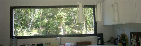 cuisine disposition fenêtre fixe acheter un châssis fixe sur mesure