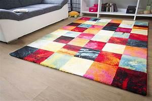 Teppich Bunt Modern : teppich bunt modern haus ideen ~ Frokenaadalensverden.com Haus und Dekorationen