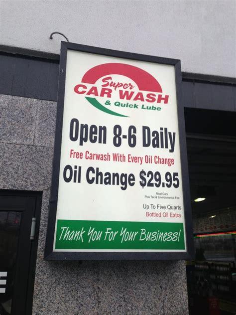 super car wash quick lube car wash  convery blvd