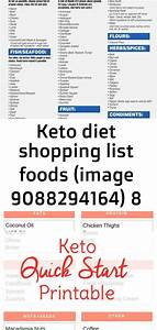 Keto Diet Shopping List Foods  Image 9088294164  8