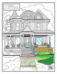 TOH Coloring Page July 2016 This Old House