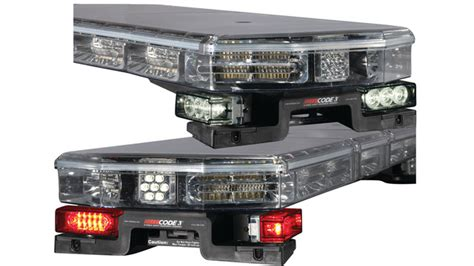 led lighted mounting options for code 3 lightbars