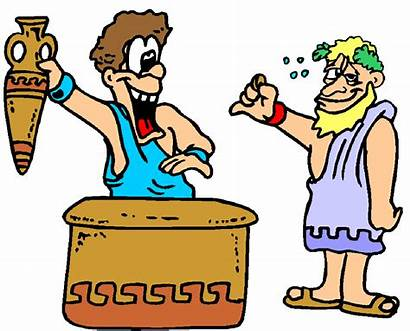 History Greeks Ancient Cartoon Olympic Games Lesson