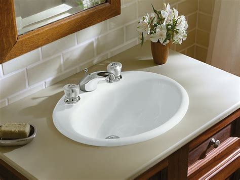 K-| Farmington Drop-in Sink With-inch Centers