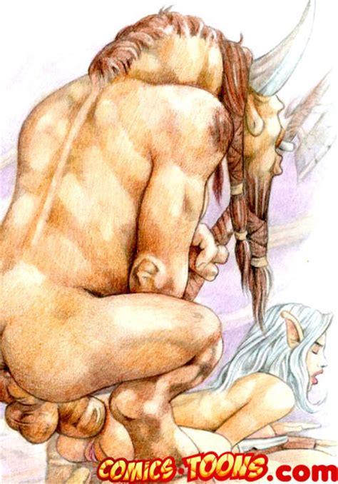 rule 34 breasts color elf female male minotaur penis sex tagme 281832