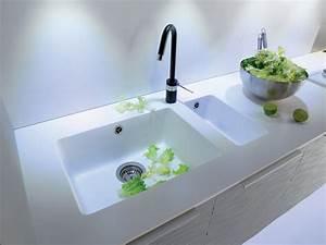 meuble cuisine evier integre le amnagement sous vier With plan de travail cuisine avec evier integre
