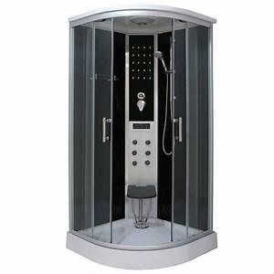 Box doccia idromassaggio 90x90 100x100 con seduta