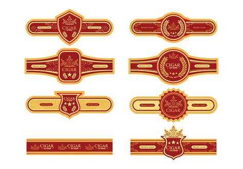 cigar label template cigar label vector free vector stock graphics images