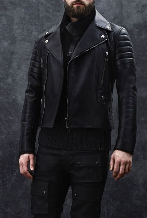 Belstaff F/W 2014, leather moto jacket #mizustyle   MIZU