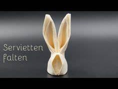 Servietten Falten Osternest : die besten 25 osterhasen basteln ideen auf pinterest osterhasen basteln mit kinder ~ Orissabook.com Haus und Dekorationen