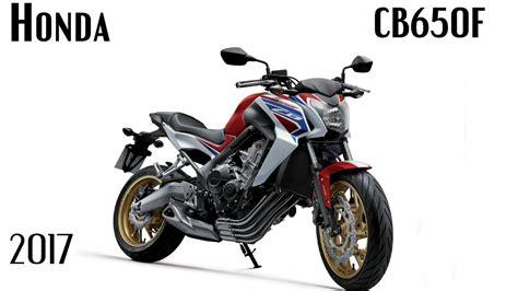 New Honda Cb650f by All New 2017 Honda Cb650f Official Motonews World