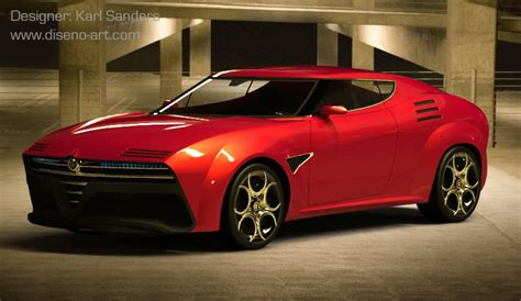 alfa romeo montreal concept alfa romeo montreal concept concept cars diseno art