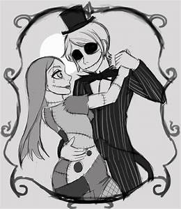 Jack And Sally By Dreamwatcher7 On Deviantart