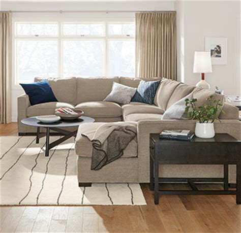 room and board harding sofa sectional guides buying guides ideas advice room