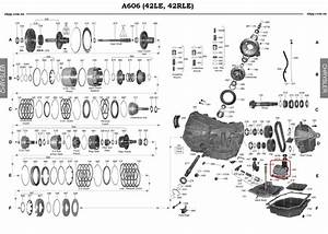 Solenoid Kit Automatic Transmission A606 42le 93
