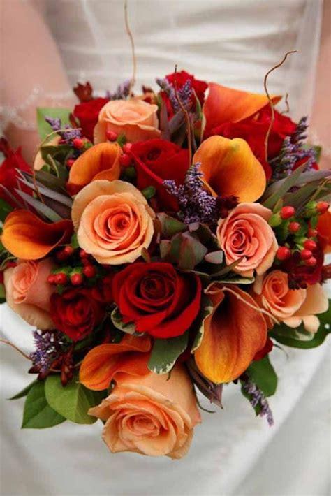 30 Fall Wedding Bouquets For Autumn Brides Fall Weddings