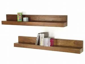 Etagere Ikea Bois : etagere bois teck ~ Teatrodelosmanantiales.com Idées de Décoration