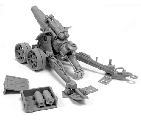 siege canon forge heavy artillery carriage with medusa siege
