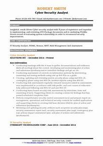 it security analyst resume samples qwikresume With cyber security sample resume
