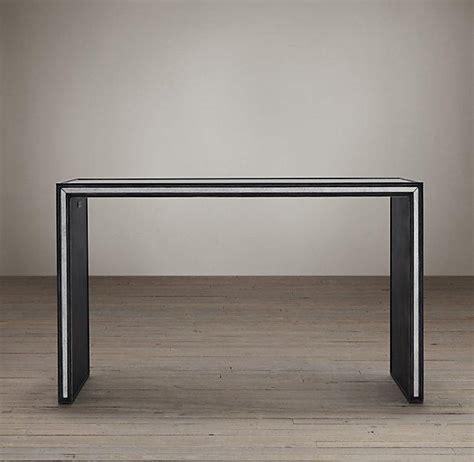 restoration hardware sofa table strand mirrored console tables i restoration hardware