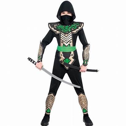 Ninja Costume Dragon Boys Slayer Costumes Halloween