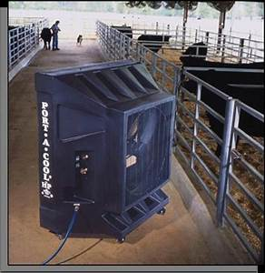 portool portable evaporative cooling agricultural cooling With agricultural fans for barns