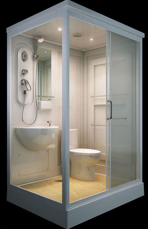 flat pack modular shower roomtoilet basin
