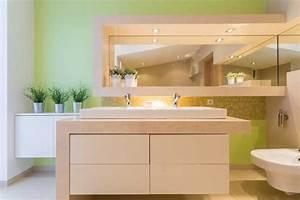 peinture salle de bain conseils mur carrelage prix With couleur salle de bain zen