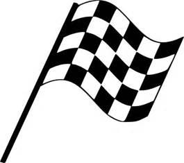 Wavy Checkered Flag - ClipArt Best
