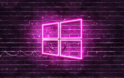 Windows Purple 4k Wallpapers Neon Resolution خلفيات