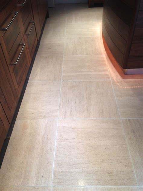 Burnishing And Sealing Limestone Tiles In Westminster