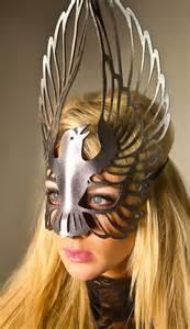 Raven Leather Mask