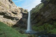 Waterfall Southern Iceland Map