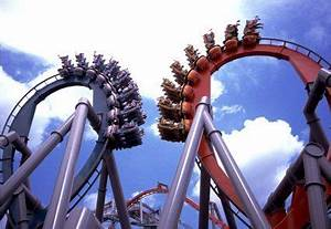 Dueling Dragons | roller coasters!!! | Pinterest