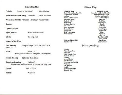 wedding programs wording etiquette storkie invitations ideas