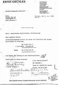 Rechnung Honorar Vorlage : 6 3 1 eine provisionsrechnung in 4 varianten ~ Themetempest.com Abrechnung