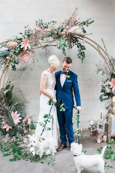 unique wedding arch ideas   moon elopements