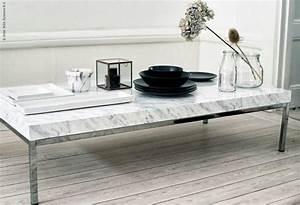Table Basse Marbre But : une superbe table basse en marbre pour seulement 70 euros ~ Teatrodelosmanantiales.com Idées de Décoration