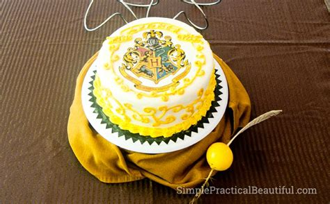 harry potter party experience simple practical beautiful
