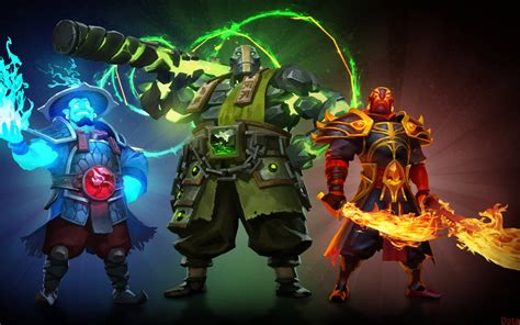 video game dota  heroes storm spirit earth spirit