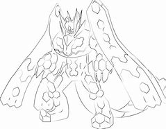HD Wallpapers Zygarde Coloring Pages