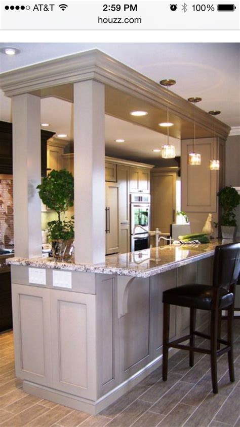bar in kitchen ideas 57 best images about load bearing wall replacement ideas