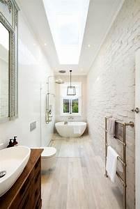 best small narrow bathroom ideas on pinterest narrow With small narrow bathroom design ideas