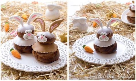 recette cuisine originale des petits lapins très quot choux quot à la châtaigne pour pâques