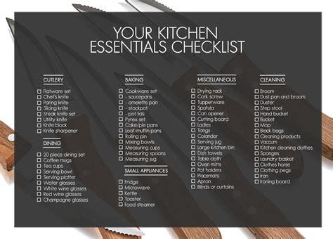 Kitchen Essentials Utensils by Essentials For A Kitchen 1 Kitchen Essentials Checklist
