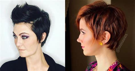 coupe courte 2017 tendance coupe courte 2017 pour femme coiffure simple et