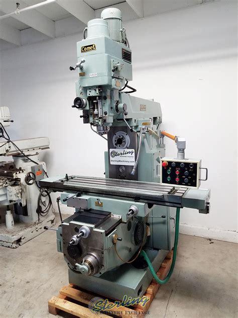 stock mighty comet universal power milling machine mills universal horizontal