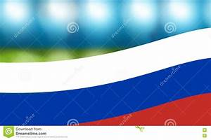 Football russia soccer flag background stock photo image